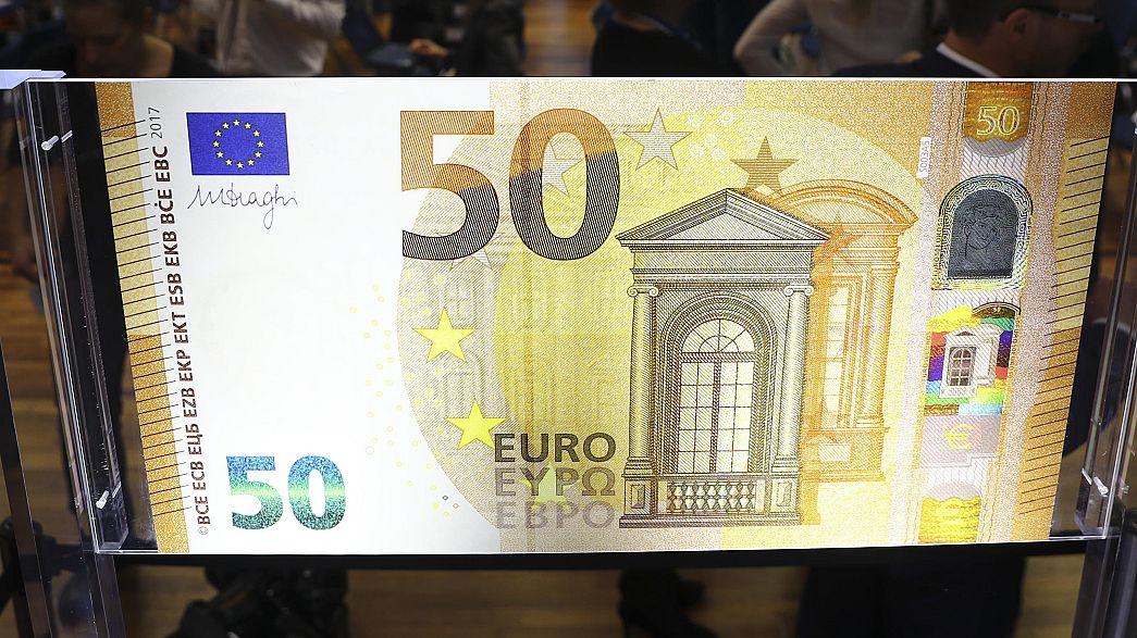 Європейський центробанк запустив друкарський станок