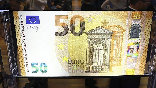 Nova nota de 50 euros chega à carteira dos europeus