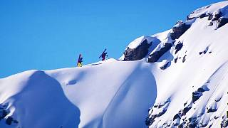 Spills and thrills at Freeride World Championships
