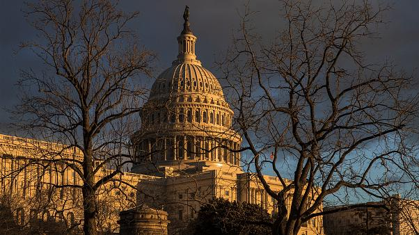 Image: The Capitol during the partial government shutdown in Washington on