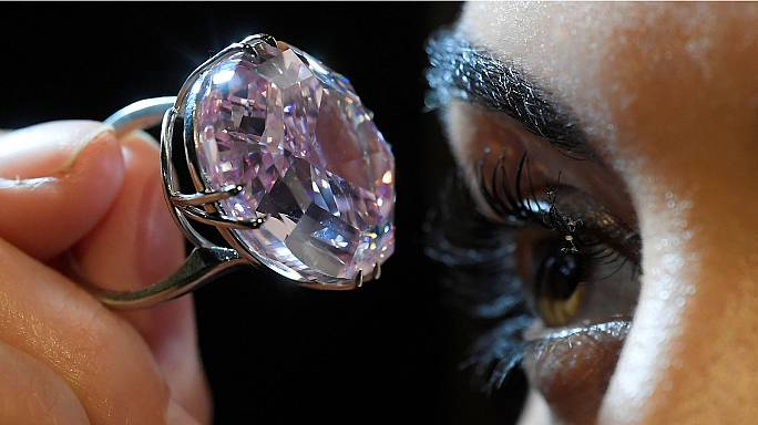Pink Star diamond sets new world record