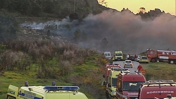 Смертоносный пожар на заводе пиротехники в Португалии