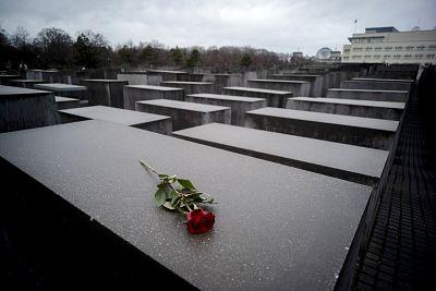 The Holocaust Memorial in Berlin on Jan. 27, 2019.