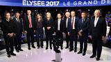 Second French presidential debate turns into a feisty affair