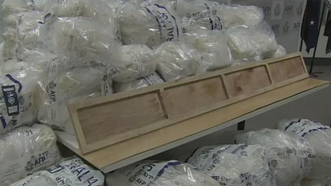 Austrália apreende droga no valor de 635 milhões de euros