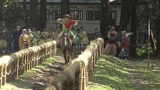 Yabusame-Festival in Japan