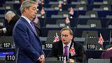 Avrupa Parlamentosu Brexit tasarısını oylarak kabul etti