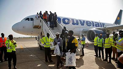 169 Gambian migrants return home after harsh conditions in Libyan prison