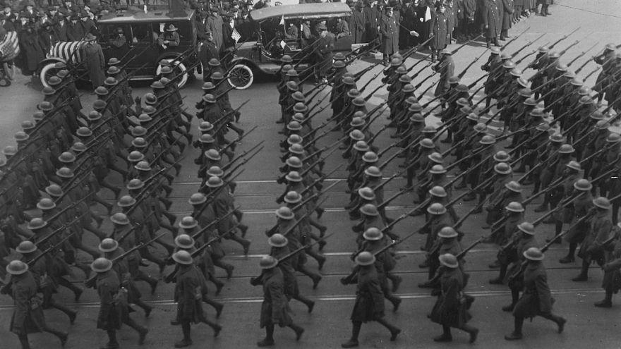 Vor 100 Jahren: USA greifen in 1. Weltkrieg ein