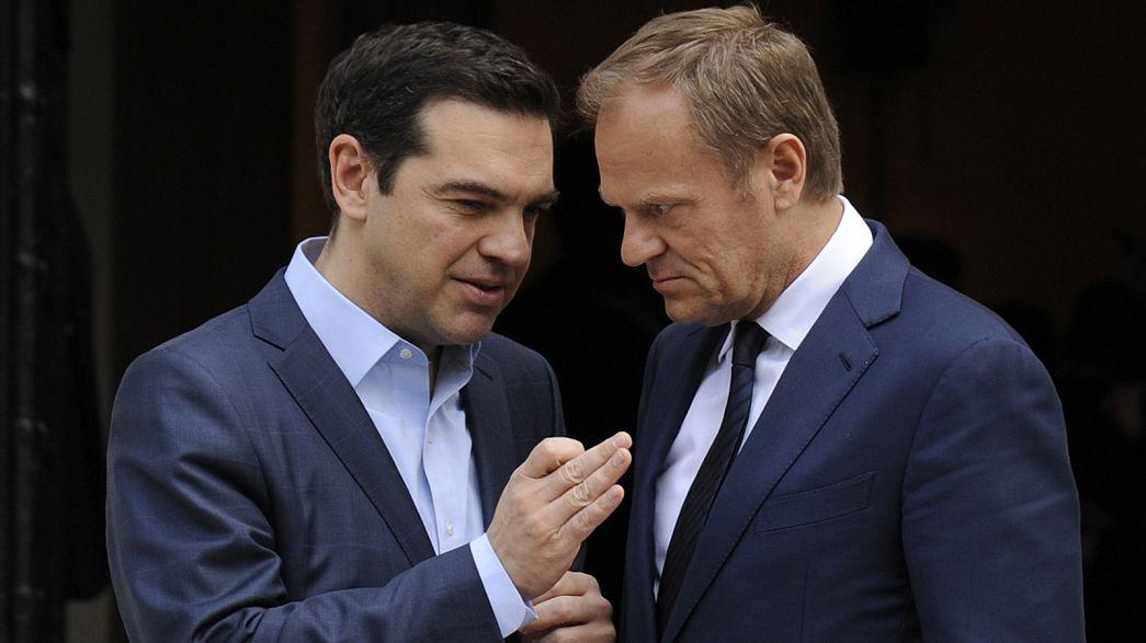 Grèce : Alexis Tsipras met la pression
