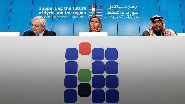 Renewed call for Syria's Assad to go eclipses EU conference