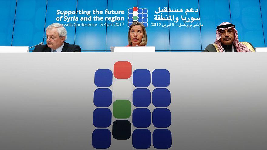 El ataque químico centra la conferencia sobre Siria en Bruselas