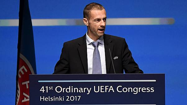 "UEFA chief warns clubs ""money doesn't rule"""