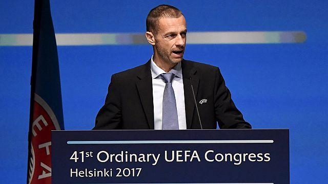 """Uefa, Ceferin: """"Non cederemo ai ricatti delle leghe più ricche"""""""
