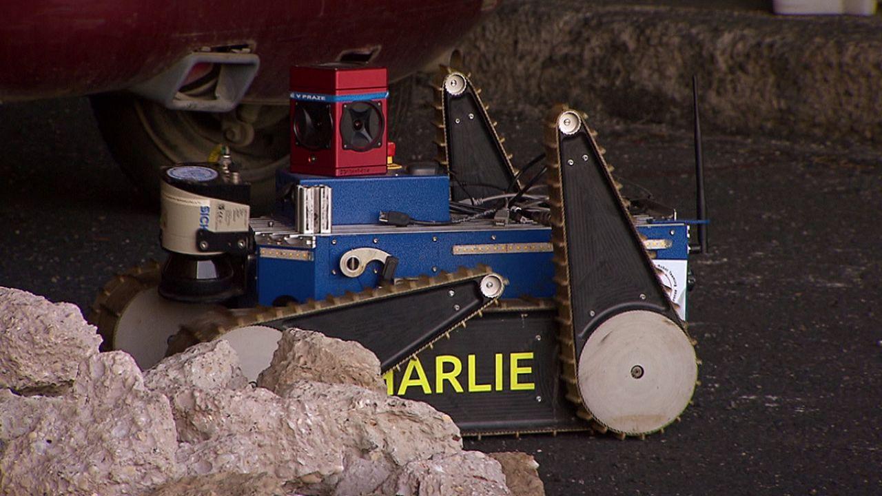 Takeaway: Robot rescue helpers