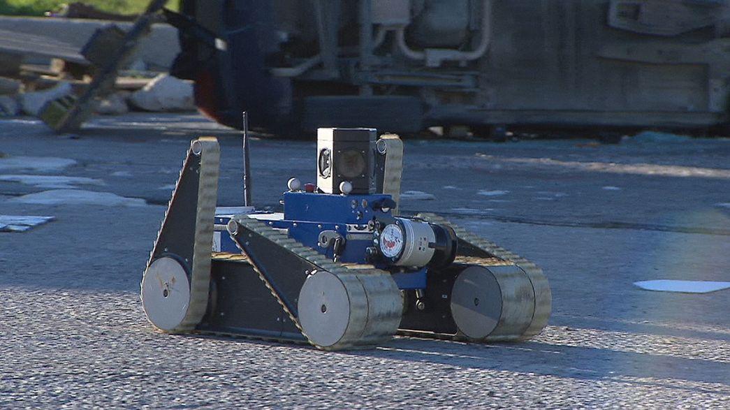 پروژه روباتیک برای کمک به امدادگران در وضعیتهای اضطراری