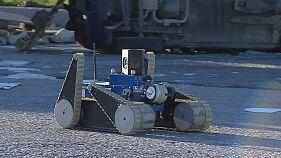 Os robôs que ajudam os bombeiros italianos