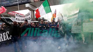 Alitalia strike grounds 60 percent of flights
