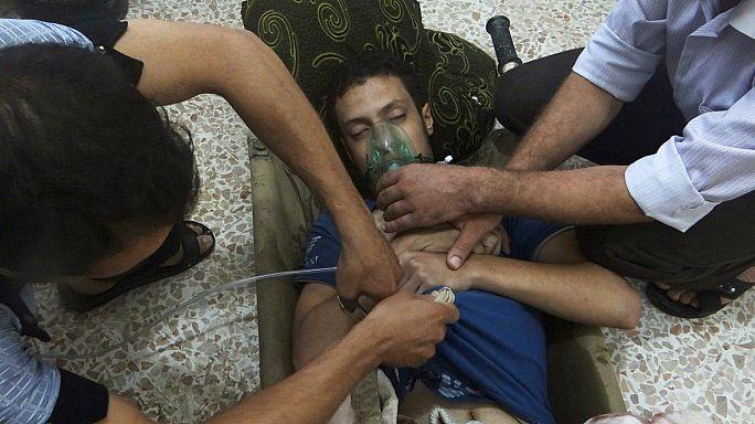Химическое оружие в Сирии: за красной чертой