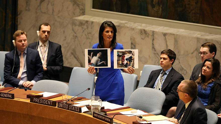 Giftgas in Syrien: USA drohen mit Alleingang
