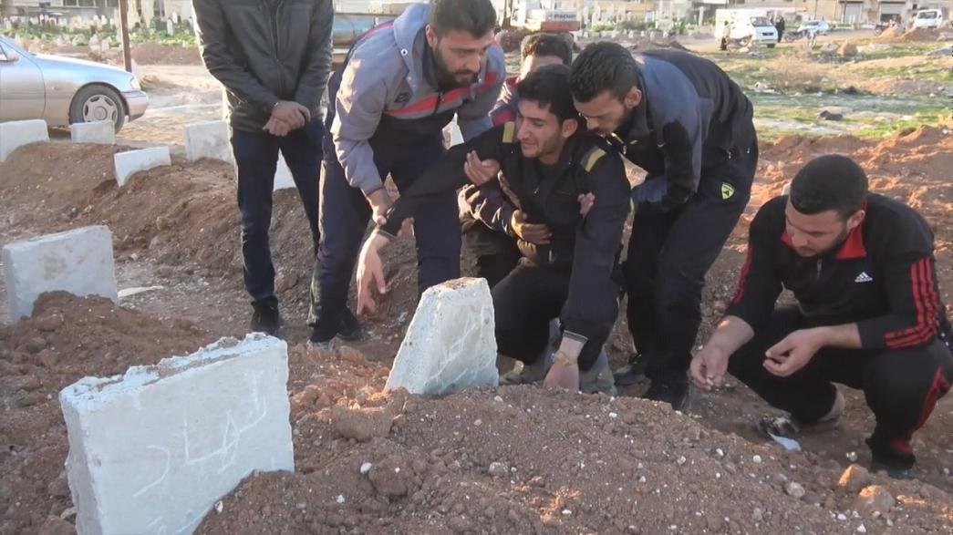 86 قتيلا على الأقل في الهجوم الكيميائي على خان شيخون...ومشروع قرار إدانة ومحاسبة في مجلس الأمن