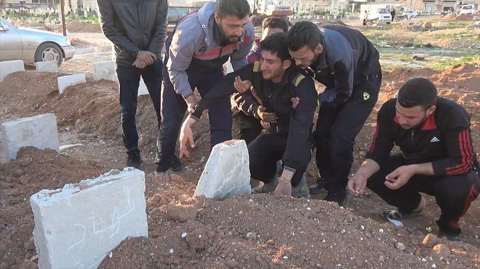 US Secretary of State Tillerson blames Syria regime for gas deaths