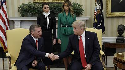Trump concludes: 'The world is a mess,' after King of Jordan meeting