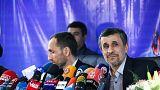 «آن آقایی که مُرد»؛ متن جنجالیتر از حاشیه در نشست مطبوعاتی احمدینژاد