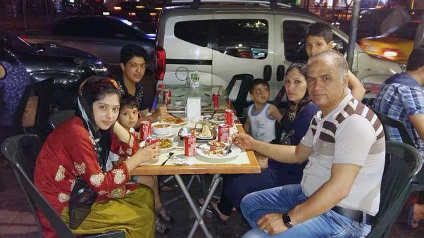 Image: Abdul Raziq Raziqian and his family