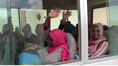 Former Islamic State captives released in Libya