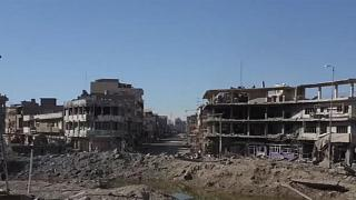 Drone footage of Mosul destruction