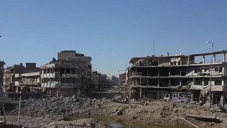 Drone footage of Mosul destruction