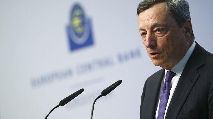 Draghi asegura que los tipos de interés bajos seguirán durante un periodo extenso