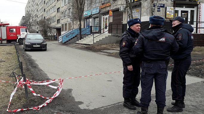 St Petersburg'da patlamaya hazır bomba bulundu