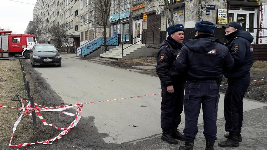 São Petersburgo: Polícia desativa bomba e prende seis alegados cúmplices