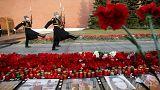 روسيا تشيع ضحايا اعتداء سان بطرسبورغ