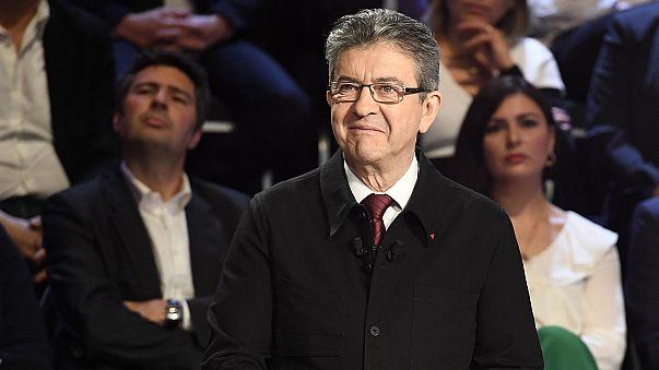 بهبود جایگاه ملانشون در رقابت های ریاست جمهوری فرانسه