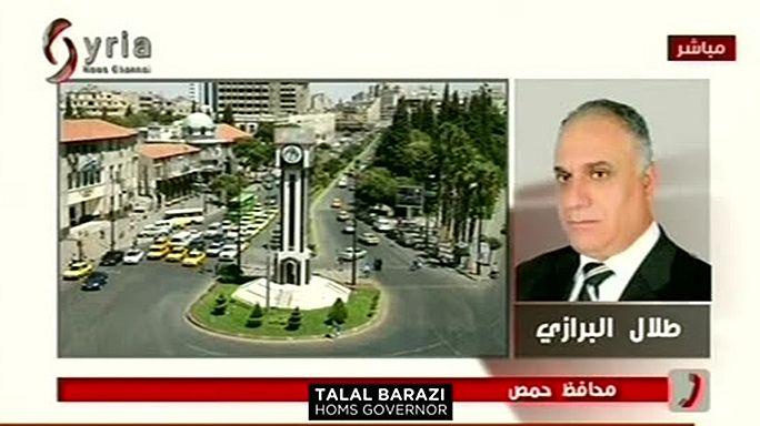 """Gouverneur von Homs: """"Es ist eine Verschwörung gegen Syrien"""""""