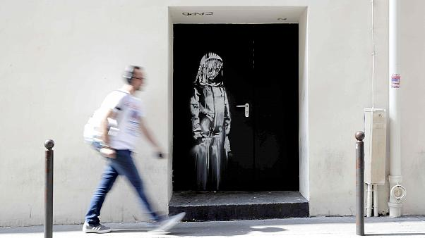 Image: FILES-FRANCE-STREET-ART-BANKSY