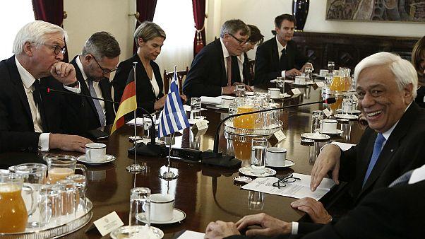 Αθήνα: Συναντήσεις Στάινμαϊερ με Παυλόπουλο, Τσίπρα