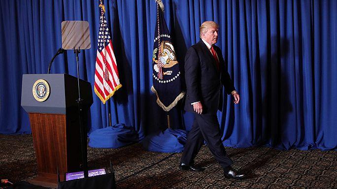 """Trump appelle """"les nations civilisées"""" à en finir avec """"le bain de sang en Syrie"""""""