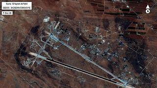 Syrie : des missiles américains lancés contre une base aérienne