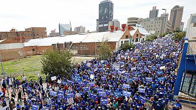 LIVE: Thousands hit the streets in South Africa seeking Zuma's removal