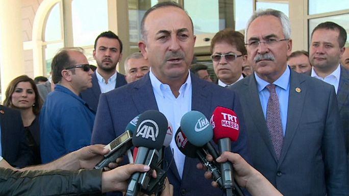 La Turquie soutient les frappes américaines