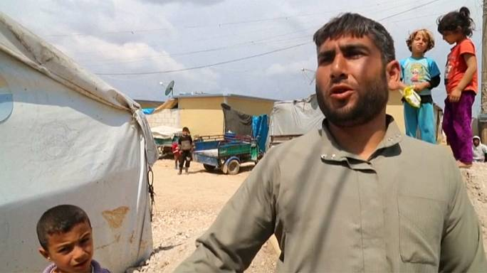 """Szír menekültek: """"Már régóta vártunk ezekre a csapásokra"""""""
