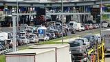 Frustration as tightened EU border checks begin