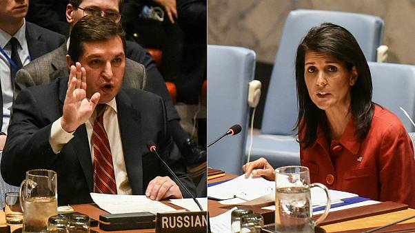 UN urges restraint as Washington and Moscow clash over Syria