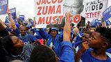 """Sudafrica in piazza contro il presidente Zuma: """"Dimettiti"""""""