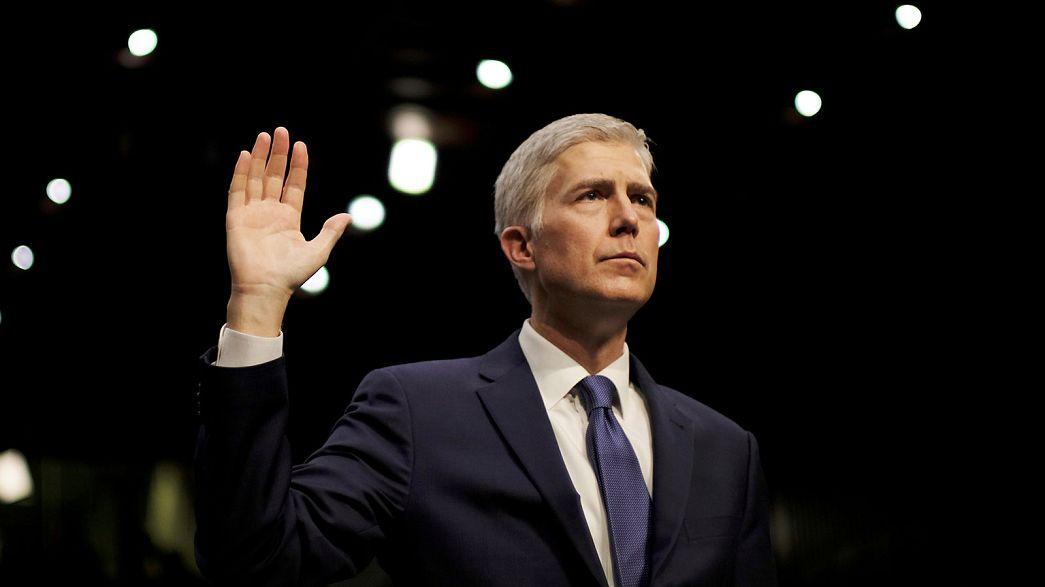 ABD Senatosu Trump'ın Yüksek Mahkeme adayı Gorsuch'a onay verdi