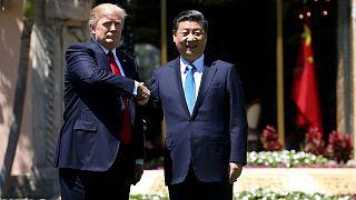 """Trump destaca """"progressos espetaculares"""" nas relações com a China"""